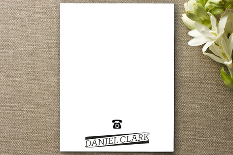Classic Calling Card Business Stationery