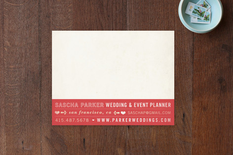 Hearts Business Stationery