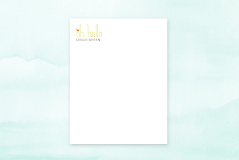 Oh Hello Birds Business Stationery