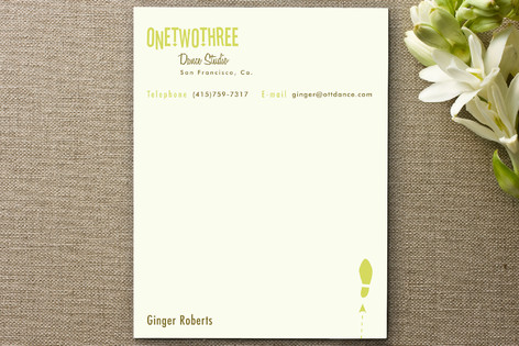One Two Three Business Stationery