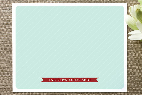 Hey Barber Business Stationery