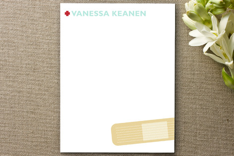 Band Aid Business Stationery