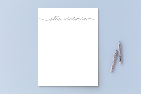 Beautifully Penned Business Stationery