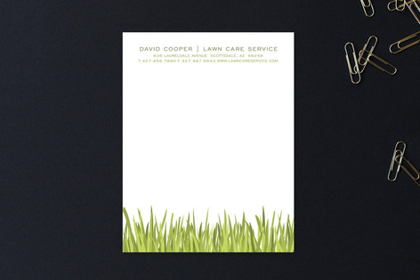 Blades of Grass Business Stationery