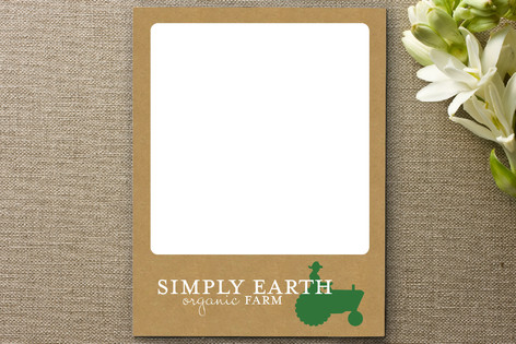 Buy Organic Business Stationery