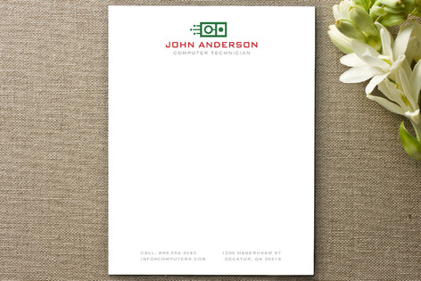 Circuit Board Business Stationery