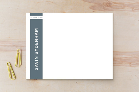 Clean and Classy Business Stationery