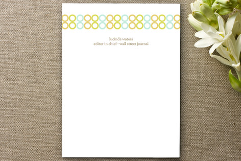 Colorful Impression Business Stationery