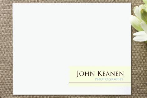 JK Photography Business Stationery