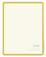 Mustard Stripe