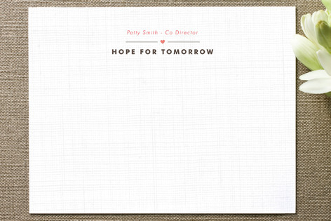 Open Hearts Business Stationery