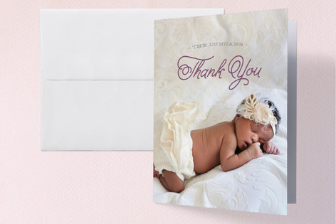 Little Sibling Birth Announcements Thank You Cards