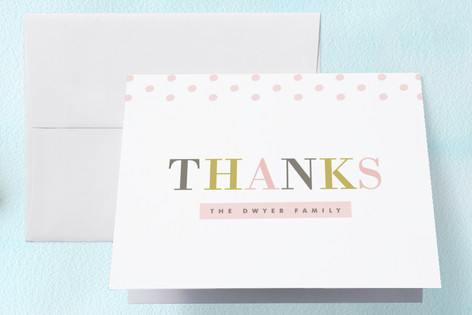 Elegant Scrapbook Birth Announcements Thank You Cards