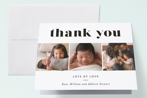 Avenue Birth Announcements Thank You Cards