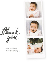 First Snapshots Birth Announcements Thank You Cards