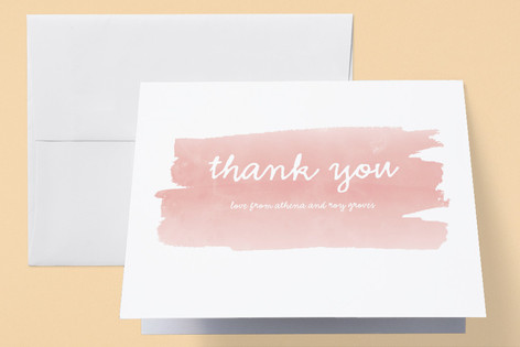 Sweet Splash Birth Announcements Thank You Cards