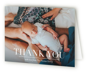 Namely Birth Announcements Thank You Cards