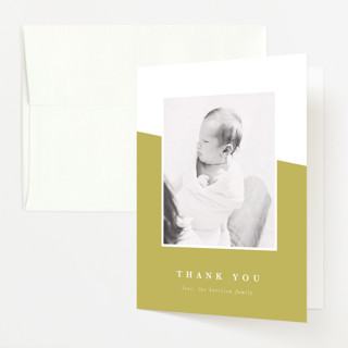 life Birth Announcements Thank You Cards