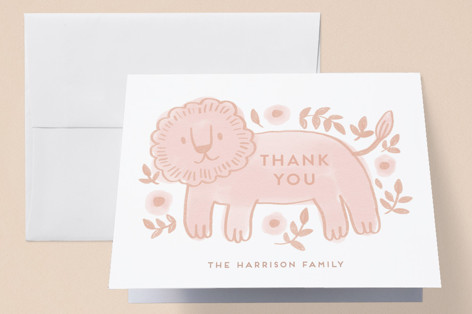 The two happiest friends Birth Announcements Thank You Cards