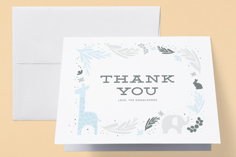 Theo Birth Announcements Thank You Cards