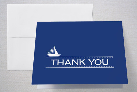 skipper Birth Announcements Thank You Cards