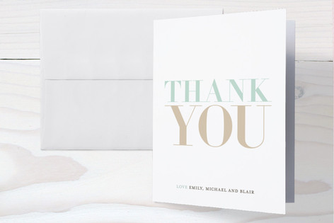 Namesake Birth Announcements Thank You Cards