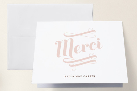 Bella Birth Announcements Thank You Cards