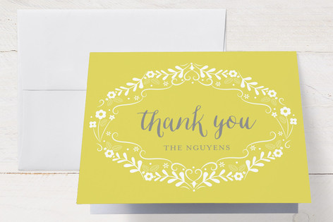 Baby Buds Birth Announcements Thank You Cards