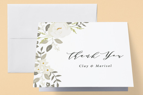 Woodland Birth Announcements Thank You Cards