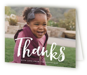 Homecoming Birth Announcements Thank You Cards