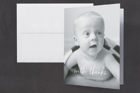 A quick introduction Birth Announcements Thank You Cards