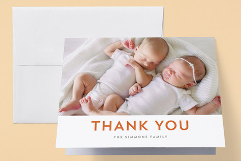 Plus Birth Announcements Thank You Cards