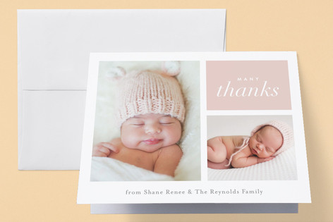 Second Glance Birth Announcements Thank You Cards