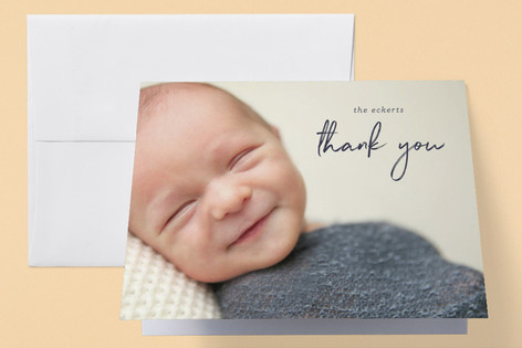proud welcome Birth Announcements Thank You Cards