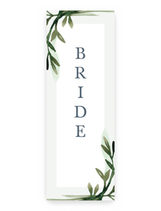 botanical frame Long Signs