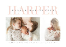 Love-ly Birth Announcements By Lauren Chism