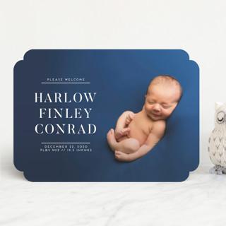 Bold Babe Birth Announcements