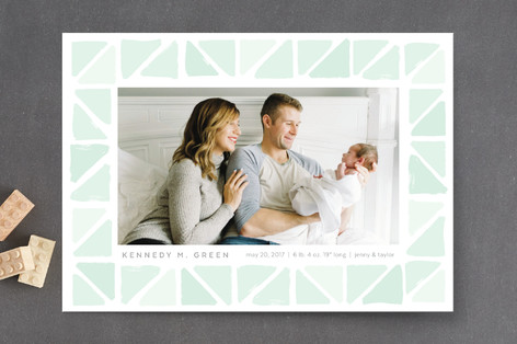 Tiny Triangles Birth Announcements