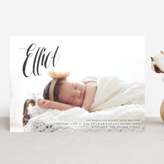 In the Clouds Birth Announcements