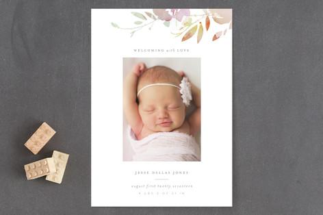 Pretty Birth Announcements