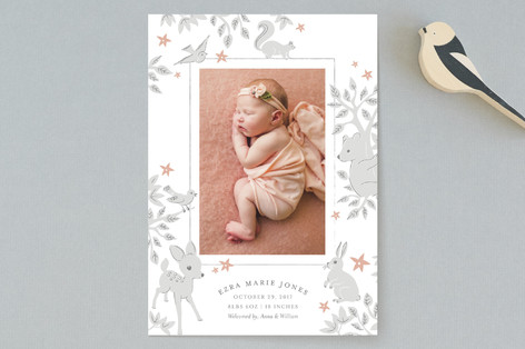 Folk Tale Birth Announcements