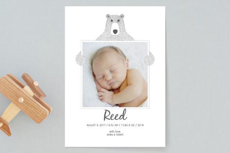 Teddy Birth Announcements