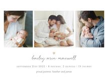 Teeny Tiny Love Birth Announcements By Sara Hicks Malone