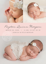 With Love Birth Announcements By Kristie Kern