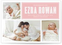 Baby Blocks Birth Announcements