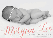 Sweetest Gift Birth Announcements By Paper Dahlia