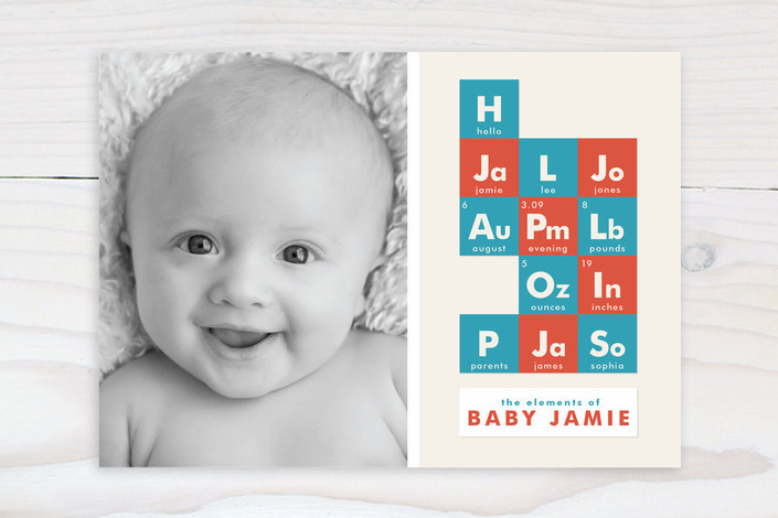 Elements Birth Announcements by Pistols – Birth Announcements