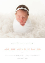 Sweet News Birth Announcements