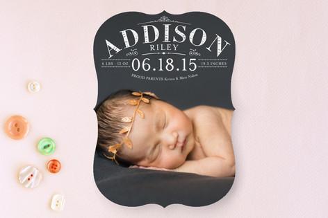 Precious Birth Announcements