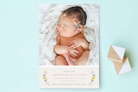 Serafina Birth Announcements